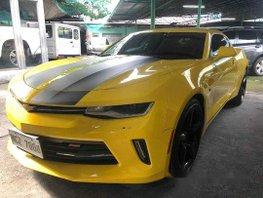 Sell Yellow 2017 Chevrolet Camaro in Quezon City