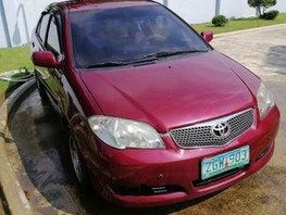 Sell Red 2007 Toyota Vios at 155000 km