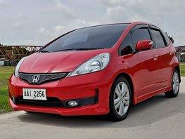 Sell Red 2014 Honda Jazz at 58000 km