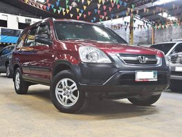 Red 2003 Honda Cr-V at 99000 km for sale in Quezon City