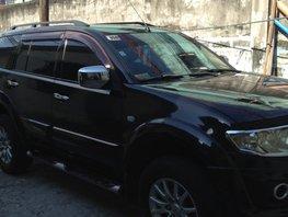 Selling Black Mitsubishi Montero Sport 2012 at 69000 km