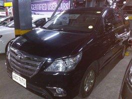 Selling Black Toyota Innova 2015 Automatic Diesel