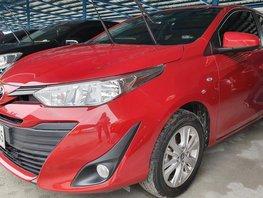 Red 2018 Toyota Vios for sale in Metro Manila