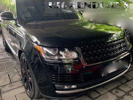 Sell Black 2017 Land Rover Range Rover at 7000 km in Manila