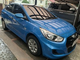 Blue 2018 Hyundai Accent Automatic Diesel for sale
