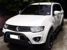 Selling 2nd Hand Mitsubishi Montero Sport 2014 Manual Diesel