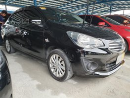 Black 2018 Mitsubishi Mirage G4 at 20000 km for sale in Quezon City
