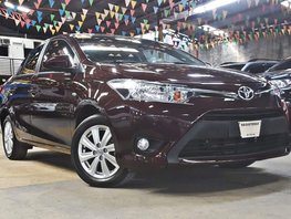 Red 2018 Toyota Vios at 10000 km for sale in Quezon City