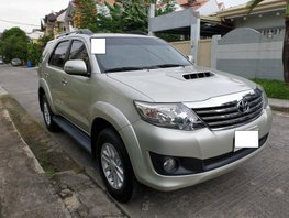 Selling Used Toyota Fortuner 2014 at 57000 km in Pasig
