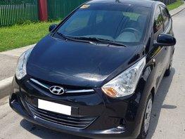 Sell Black 2018 Hyundai Eon at 22000 km in Davao City