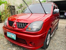 Red 2009 Mitsubishi Adventure Manual Diesel for sale