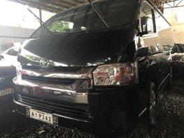 Black Toyota Hiace 2018 Manual Diesel for sale