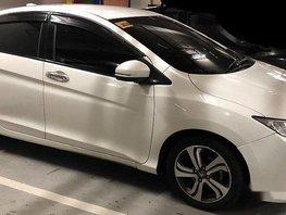 White Honda City 2014 at 69000 km for sale