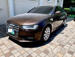 Brown Audi A4 2013 at 67000 km for sale