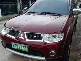 Selling Red Mitsubishi Montero 2013 Automatic at 78000 km
