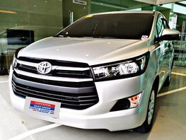 Sell Silver 2018 Toyota Innova at 27188 km in Bacoor