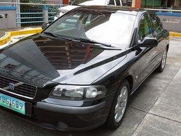 Black 2002 Volvo S60 for sale in Baguio