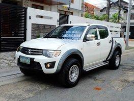 White 2012 Mitsubishi Strada Automatic Diesel for sale