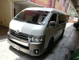 Sell White 2015 Toyota Hiace at 51000 km