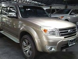 Sell Brown 2013 Ford Everest at 40000 km
