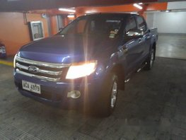 Sell Blue 2014 Ford Ranger Automatic Diesel at 63000 km