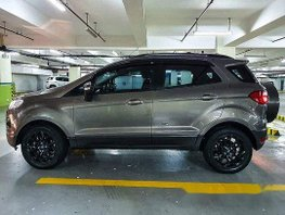 Selling Brown Ford Ecosport 2016 Automatic Gasoline