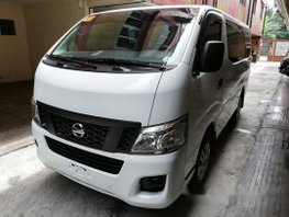 White Nissan Nv350 Urvan 2016 Manual Diesel for sale