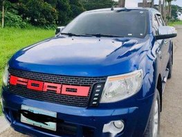 Blue Ford Ranger 2013 Automatic Diesel for sale