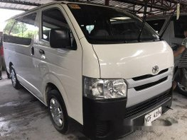 Selling White Toyota Hiace 2016 Manual Diesel
