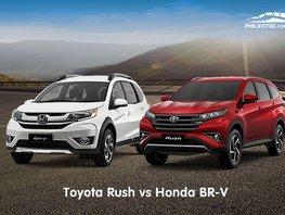 Toyota Rush vs Honda BR-V: Comparison of specs, features, price & more