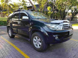 Black Toyota Fortuner 2010 for sale in Pasig