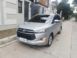 Silver Toyota Innova 2018 Manual Diesel for sale