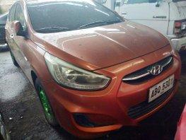 Orange Hyundai Accent 2015 for sale in Makati