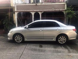 Silver Toyota Corolla Altis 2008 for sale in Pasay