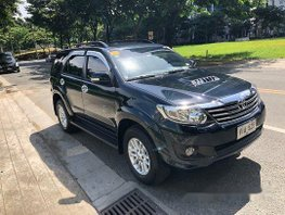 Selling Black Toyota Fortuner 2014 Automatic Diesel