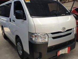 Selling White Toyota Hiace 2019 Manual Diesel