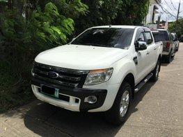 White 2014 Ford Ranger at 84000 km for sale