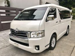 White Toyota Hiace 2016 for sale in Pasay