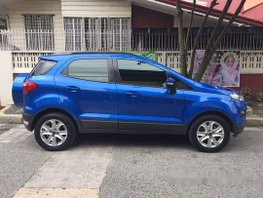 Blue Ford Ecosport 2015 for sale in Manila