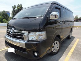 Black 2016 Toyota Hiace Automatic Diesel for sale