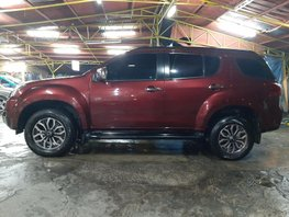 Red Isuzu Mu-X 2017 Diesel Automatic for sale in Taguig