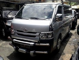 Silver Toyota Hiace 2015 at 48000 km for sale