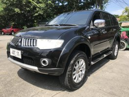 Sell Black 2011 Mitsubishi Montero Sport at 81000 km in Las Pinas