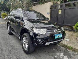 Black Mitsubishi Montero Sport 2014 at 43000 km for sale