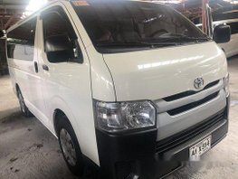White Toyota Hiace 2018 at 5500 km for sale
