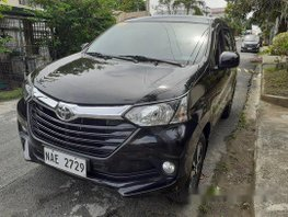 Selling Black Toyota Avanza 2017 at 23000 km