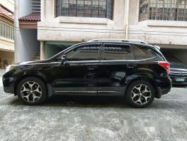 Black Subaru Forester 2013 at 53000 km for sale