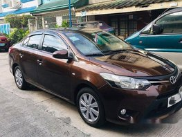 Sell Brown 2014 Toyota Vios in Manila