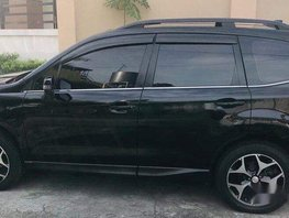Selling Black Subaru Forester 2015 Automatic Gasoline at 59000 km