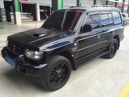 Black 2002 Mitsubishi Pajero Automatic Diesel for sale